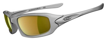 Oakley Sunglasses Oakley Fives 4.0 03-363 Silver - Fire