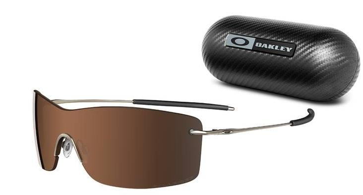 Oakley Nanowire 3.0 12-920 Brown Chrome Polarised Sunglasses