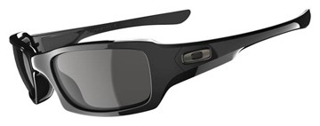 Oakley Sunglasses Oakley Fives Squared 03-440 Polished Black