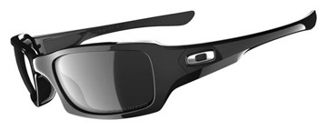 Oakley Sunglasses Oakley Fives Squared 12-967 Polished Black