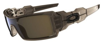 Oakley Oil Rig 03-463 Brown Smoke Sunglasses