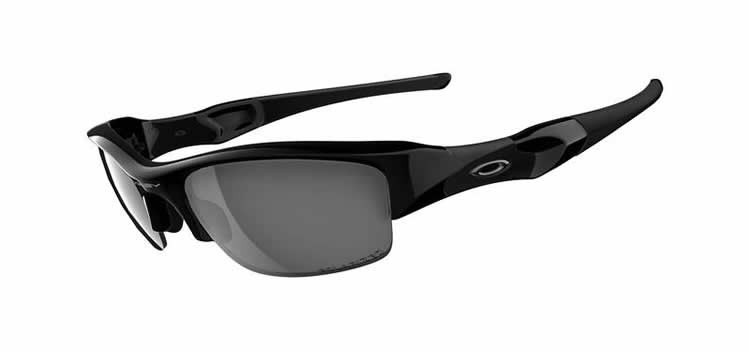 Oakley Sunglasses Oakley Flak Jacket 12-900 Jet Black Polarised
