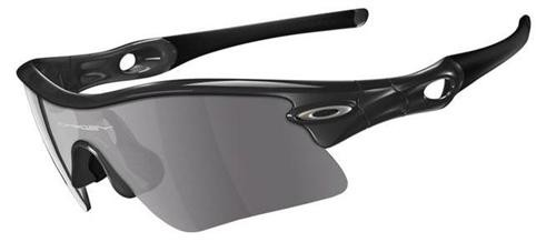 Oakley Sunglasses Radar Range 09-664 Jet Black Sunglasses