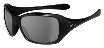 Oakley Ravishing 12-948 Jet Black Polarised Sunglasses