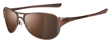Oakley Restless 12-996 Polished Brown Polarised Sunglasses