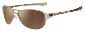 Oakley Restless 05-720 Polished Gold Sunglasses