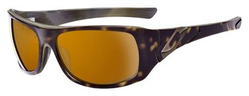 Oakley Sideways 12-961 Light Brown Tortoise Polarized Sunglasses
