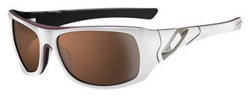 Oakley Sideways 05-992 White Sunglasses
