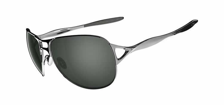Oakley Hinder OO4043-02 Chrome Gray Sunglasses