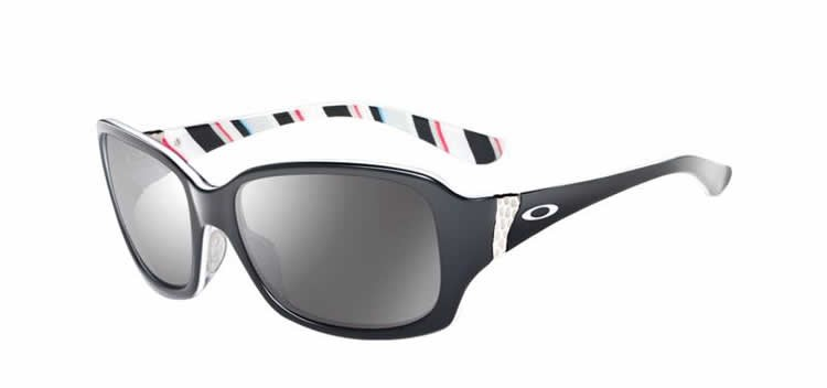 Discreet OO2012-01 Black Stripes Sunglasses