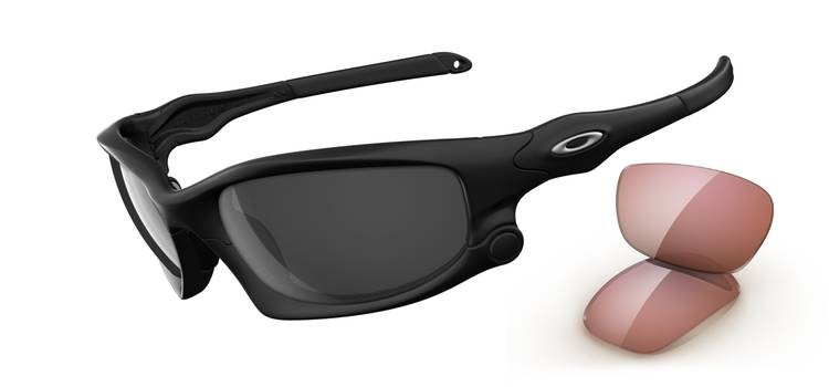 Oakley Split Jacket OO9099-01 Matte Black Sunglasses