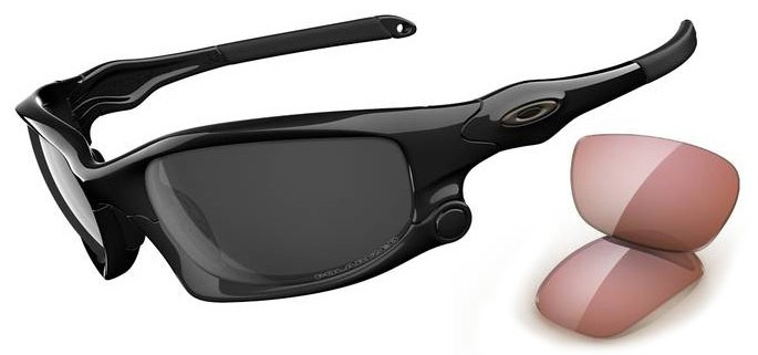Oakley Split Jacket OO9099-04  Black Polar Sunglasses