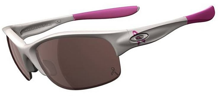 Oakley Commit SQ 24-184 Lavender Trust White Sunglasses