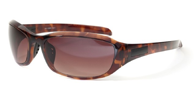 Bloc Como X82 Shiny Tortoise BG12 Brown Graduated Lens