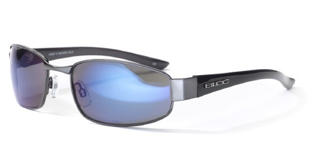 Bloc X Square XB202 Gun Shiny Black With Blue Lens
