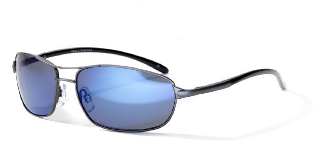 Bloc D Titan GunMetal With Blue Lens