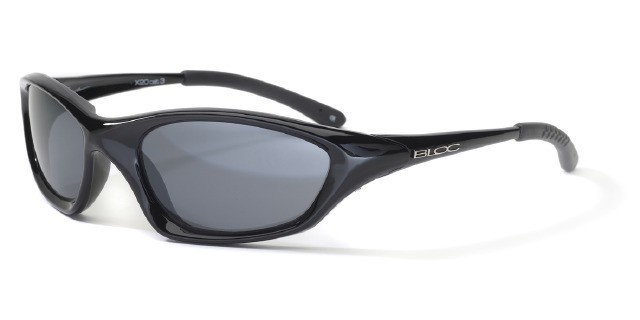 Bloc Cobra X20 Shiny Black S11 Smoke Lens