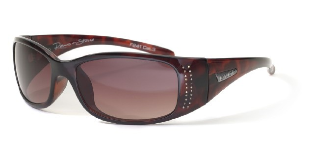 Bloc Reims+Stones F241 Shiny Tortoise BG12 Brown Gradient Lens