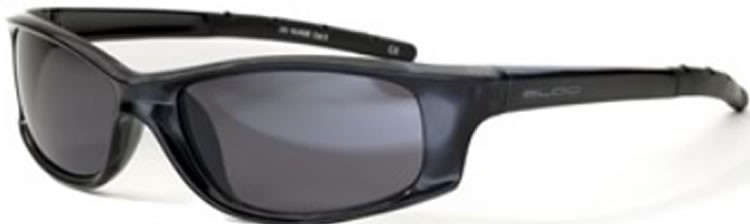 Bloc Junior Nuage J90 (10-14 Years) Shiny Black - S11 Smoke Lens