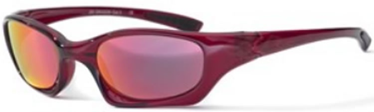 Bloc Junior Dragon J83 (8-12 Years) Crystal Red - Red Lens