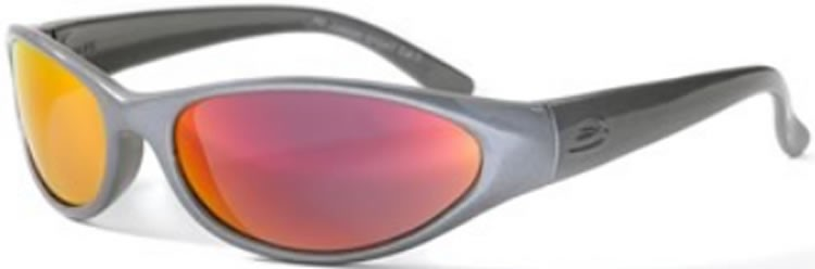 Bloc Stoat Junior J60 (10-14 Years) Anthracite / Red Flame - S11 Smoke Lens