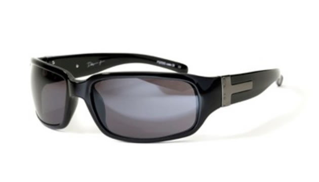 Bloc Dakar T P255 Shiny Black Polarized Lens