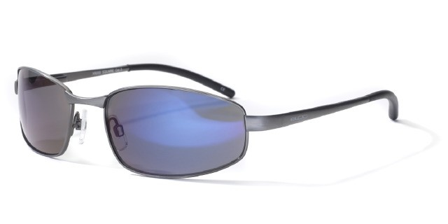 Bloc Square XB200 Gunmetal With Blue Lens