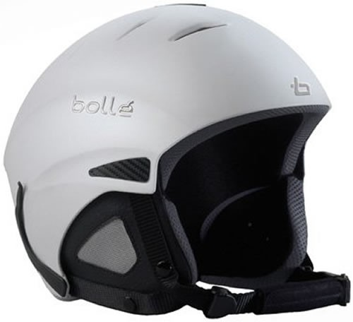Bolle Slide Ski Helmet - 30233 Soft Silver - Medium 58cm