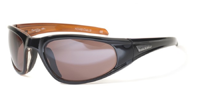 Bloc Stingray XR X046 Shiny Black Orange VE5 Vermillion Lens