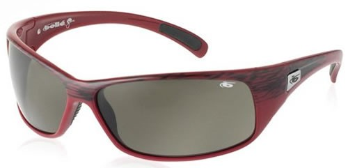 Bolle Recoil Red Textile (Smoke Grey) 10879
