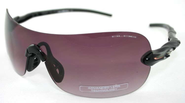 Bloc Lynx X450 Shiny Black - Berry Gradient Lens