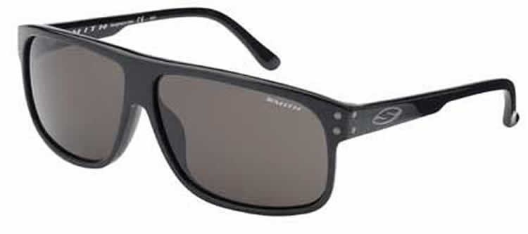 Smith Ashfield Sunglasses 807 (TD) Black (Grey Polarised)