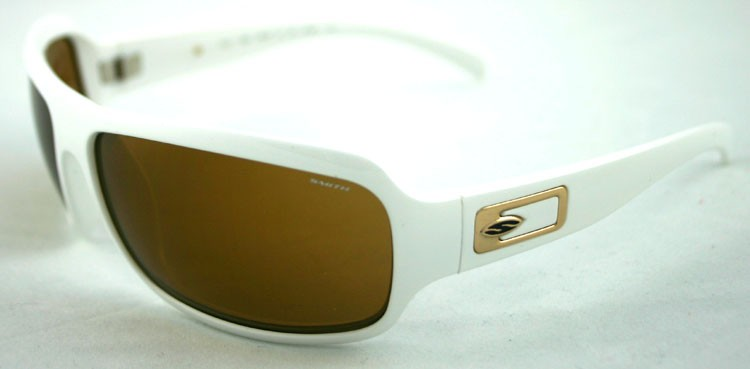 Smith Super Method 7AB White/Gold Sunglasses