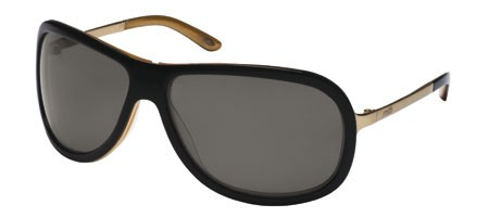 Smith Bellaire Sunglasses 0DC (OL) Black Gold (Grey)