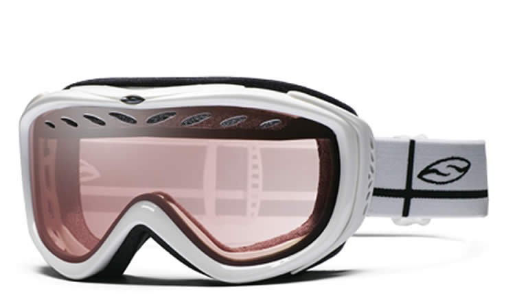 Smith Transit Pro Snow Goggle White - Pink Copper
