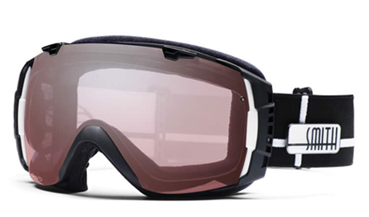 Smith I/O Snow Goggle Black Intersection - Ignitor Mirror