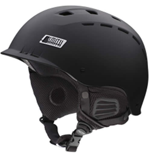 Smith Hustle Ski Helmet Matt Black Medium 55 - 59cm