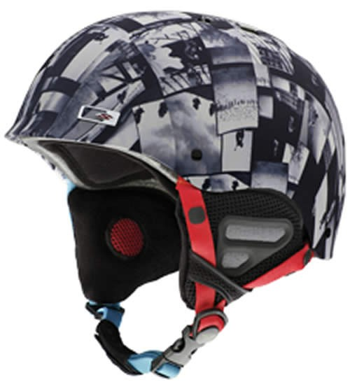 Smith Holt Ski Helmet Black / White Photos Medium 56 - 58cm