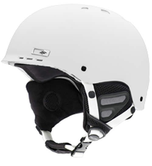Smith Holt Ski Helmet Matt White Extra Small 52 - 54cm