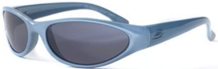 Bloc Stoat Junior J64 (10-14 Years) Powder Blue - S11 Smoke Lens