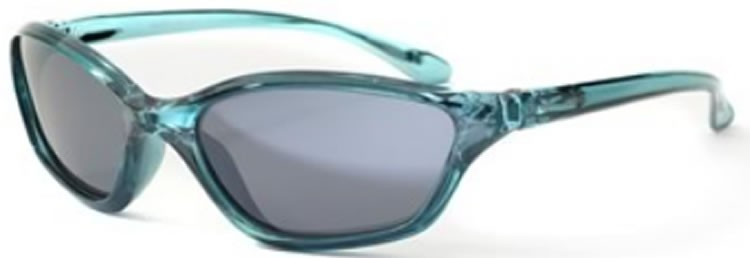 Bloc Junior Adder J89 (6-10 Years) Crystal Blue - S11 Smoke Lens
