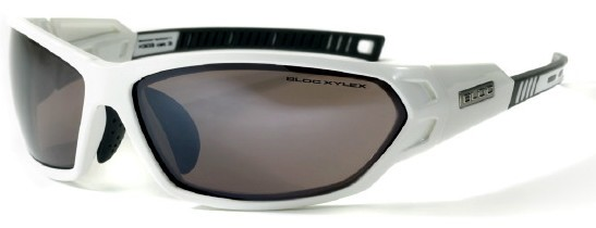 Bloc Scorpion X303 shiny white VE5 Vermillion Lens