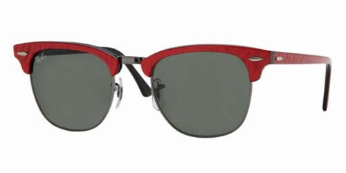 Ray-Ban 3016 Colour 985 49mm ClubMaster Sunglasses