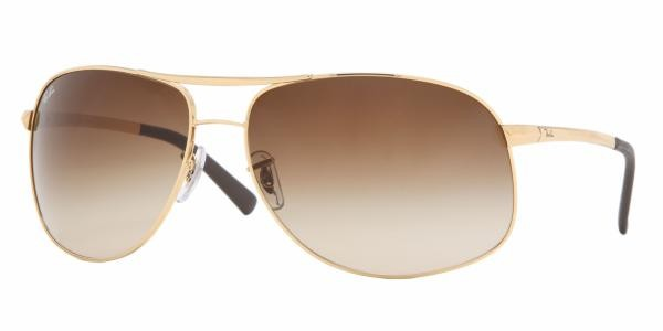 Ray-Ban 3387 Colour 001/13 Large Aviator 64mm