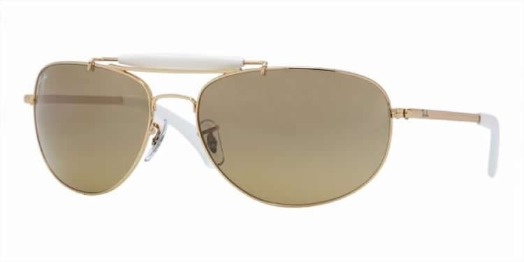 Ray-Ban 3423 Colour 001/3K Outdoorsman 60mm