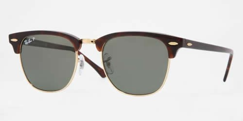 Ray-Ban 3016 Colour 990/58 51mm ClubMaster Polarized Sunglasses