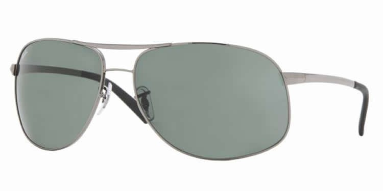 Ray-Ban 3387 Colour 004/71 Large Aviator 64mm