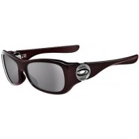 Oakley Flaunt 03-728 Cinder Red Sunglasses